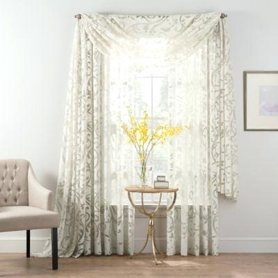 Insulated Sheer Curtains Layered Exclusive Fabrics Signature With Signature White Double Layer Sheer Curtain Panels (View 24 of 50)