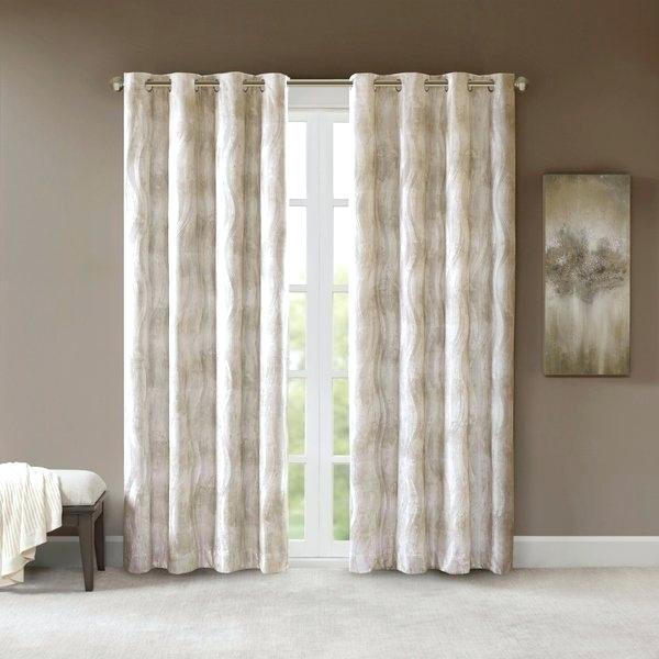 Inspiration about Ivory Blackout Curtains – Alonerescue.online For Signature Ivory Velvet Blackout Single Curtain Panels (#33 of 50)