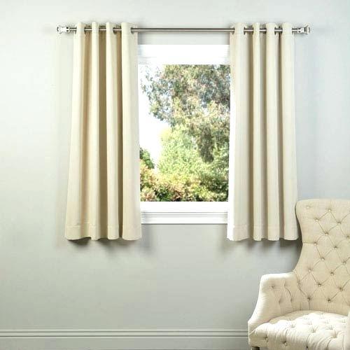 Ivory Blackout Curtains Regarding Ruffle Diamond Curtain Panel Pairs (View 33 of 50)