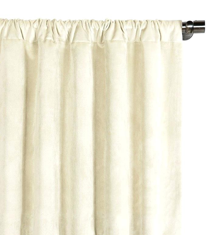 Inspiration about Ivory Curtain Panels – Wppro.co For Overseas Leaf Swirl Embroidered Curtain Panel Pairs (#24 of 50)