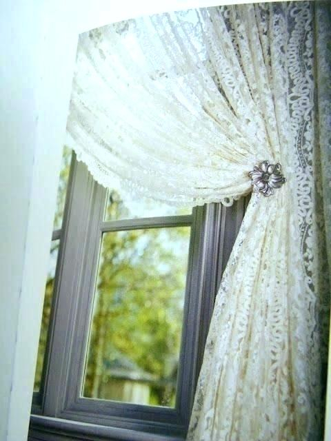 Inspiration about Ivory Lace Curtains – Torontostaffing.co Inside Overseas Leaf Swirl Embroidered Curtain Panel Pairs (#31 of 50)