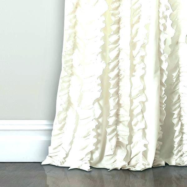Ivory Ruffle Curtains – Leemboodi (View 48 of 50)