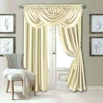 Inspiration about Ivory Velvet Curtains S Crushed Blackout – Kadinkadina.co Intended For Signature Ivory Velvet Blackout Single Curtain Panels (#44 of 50)