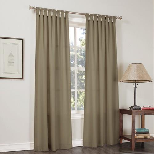 Popular Photo of Jacob Tab Top Single Curtain Panels