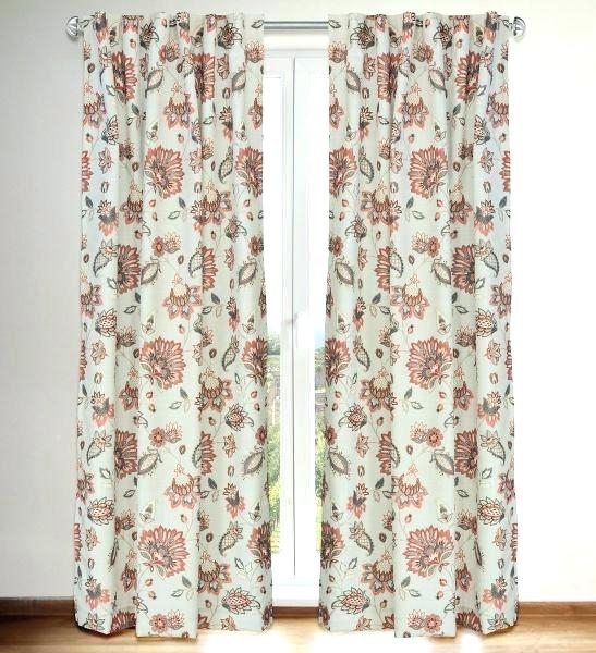 Jacobean Curtains Throughout Jacob Tab Top Single Curtain Panels (View 9 of 23)