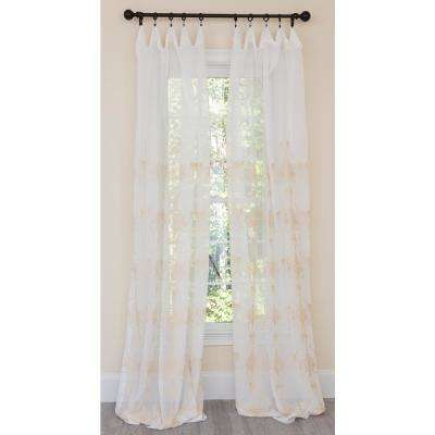 Jacquard – Gold – Curtains & Drapes – Window Treatments Intended For Elrene Mia Jacquard Blackout Curtain Panels (View 28 of 37)