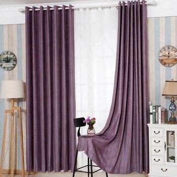 Japan Solid Color Faux Linen Blackout Curtains For Living Intended For Faux Linen Blackout Curtains (#26 of 50)