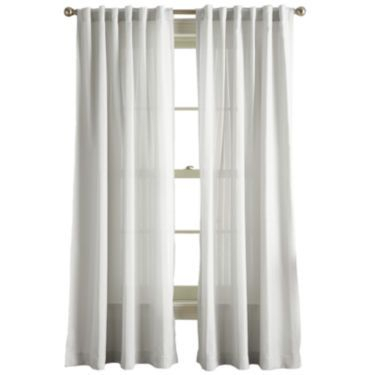 Jcp | Hayden Rod Pocket Back Tab Curtain Panel | Staging A Regarding Hayden Rod Pocket Blackout Panels (View 24 of 43)