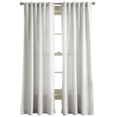 Jcp | Hayden Rod Pocket Back Tab Curtain Panel | Staging A Regarding Hayden Rod Pocket Blackout Panels (#24 of 43)