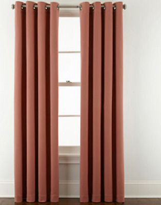 Jcpenney Home Pembroke Lined Grommet Top Curtain Panel 50 With Lined Grommet Curtain Panels (#16 of 31)