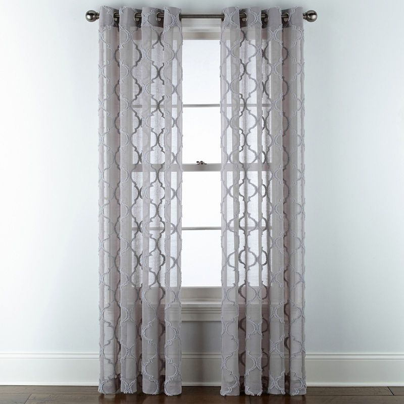 Popular Photo of Softline Trenton Grommet Top Curtain Panels