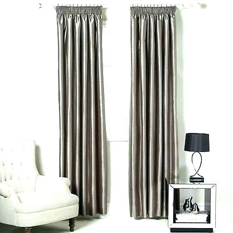 John Lewis Faux Silk Blackout Eyelet Curtains White Aurora Inside Faux Silk Extra Wide Blackout Single Curtain Panels (View 39 of 50)