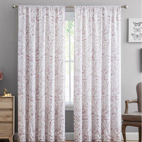 Kane Paisley Curtain | Wayfair (#27 of 41)