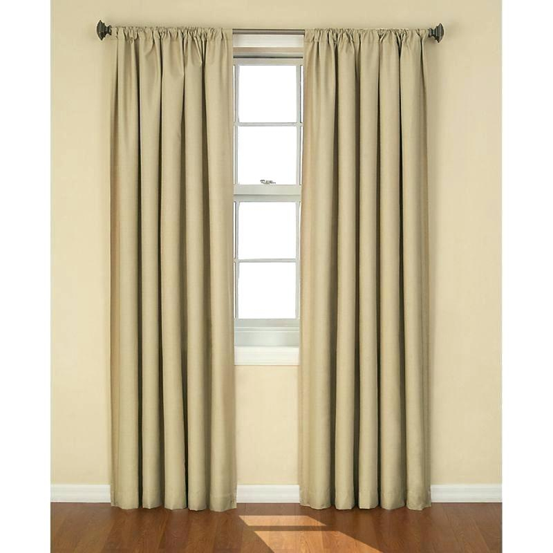 Kendall Curtains Eclipse Blackout Thermal Curtain Panel With Eclipse Kendall Blackout Window Curtain Panels (#17 of 19)