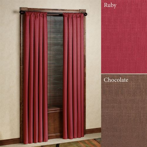 Kendall Thermaback(Tm) Blackout Curtain Panel Regarding Thermaback Blackout Window Curtains (#30 of 36)
