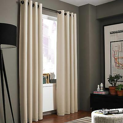 "Kenneth Cole Reaction Gotham Texture 108"" Lined Grommet Throughout Lined Grommet Curtain Panels (#17 of 31)"