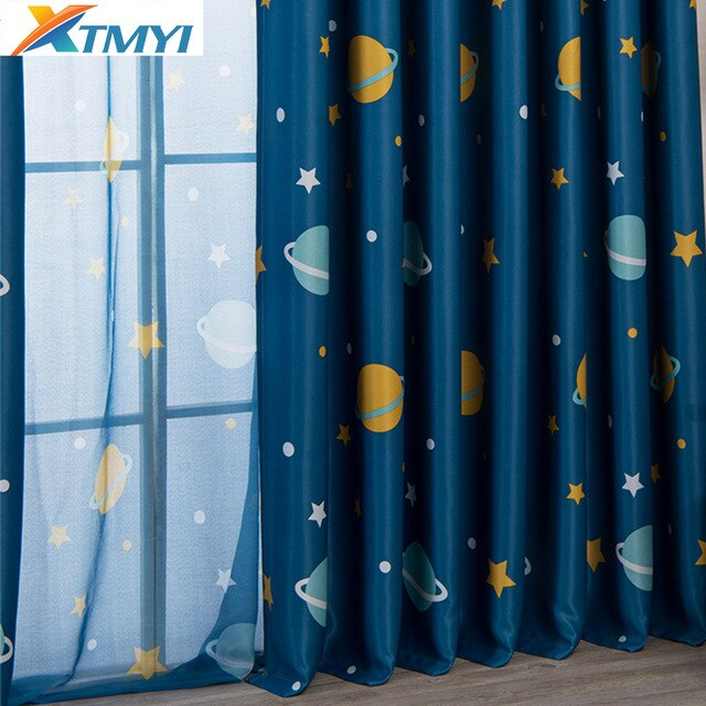 Kids Room Blackout Curtains | Best Home Decorating Ideas Pertaining To Elrene Aurora Kids Room Darkening Layered Sheer Curtains (View 31 of 40)