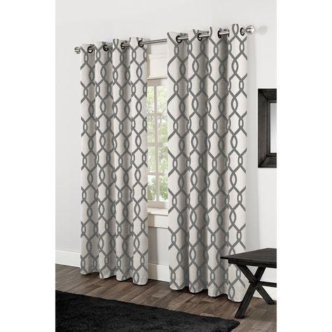 """Kochi Linen Blend Grommet Top Curtain Panel Pair 84"""" (As Is Within Kochi Linen Blend Window Grommet Top Curtain Panel Pairs (View 6 of 36)"""