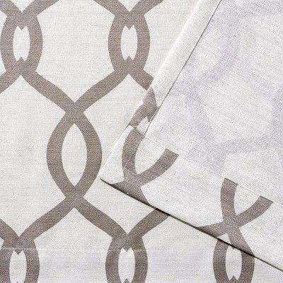 Kochi Linen Blend Grommet Top Window Curtain Panel Pair Regarding Kochi Linen Blend Window Grommet Top Curtain Panel Pairs (View 18 of 36)