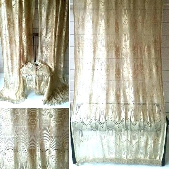Lace Curtain Panel Vintage Panels Antique Victorian Uk Pertaining To Luxurious Old World Style Lace Window Curtain Panels (View 22 of 50)