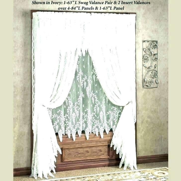 Lace Curtain Valances – Andreaduque (View 15 of 50)