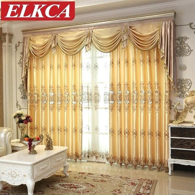 Lace Curtains With Luxurious Old World Style Lace Window Curtain Panels (View 16 of 50)