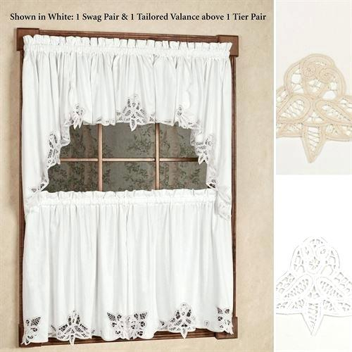 Lace Kitchen Curtains – Invisiblecity With Luxurious Old World Style Lace Window Curtain Panels (View 42 of 50)