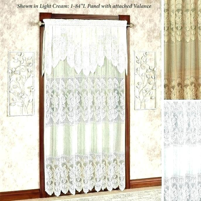 Lace Valance Curtains – Argotcomunicacion In Luxurious Old World Style Lace Window Curtain Panels (View 45 of 50)