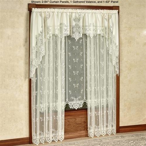 Lace Valance Curtains – Brickandwillow (View 46 of 50)