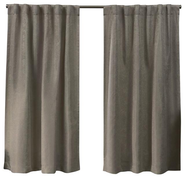 Lancaster Basketweave Blackout Hidden Tab Top Curtain Panel Pair, Latte,  52X63 With Regard To Sateen Woven Blackout Curtain Panel Pairs With Pinch Pleat Top (#17 of 40)