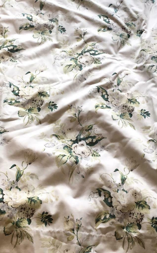 Inspiration about Large Laura Ashley Thick Fully Lined Blackout Curtains *winter Lily Print*  | In Westminster, London | Gumtree Regarding London Blackout Panel Pair (#15 of 41)