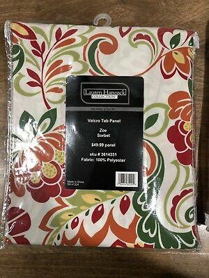 "Inspiration about Lauren Hancock Gazebo Patio Panel Velcro Tab 51""W X 90""L Regarding Matine Indoor/outdoor Curtain Panels (#28 of 50)"