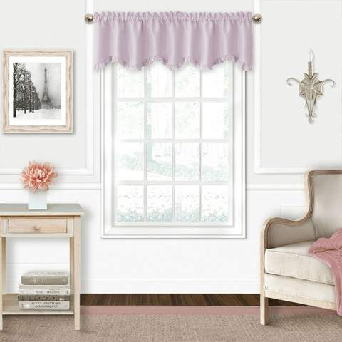 Lavender And Grey Curtains – Shopstyle For Elrene Aurora Kids Room Darkening Layered Sheer Curtains (View 35 of 40)