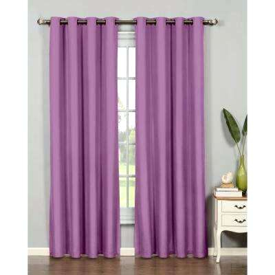 Inspiration about Lavender Curtain Panels – Enishia.co In Abstract Blackout Curtain Panel Pairs (#24 of 46)