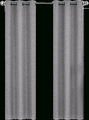 Lawson 95 Inch Grommet Top Room Darkening Window Curtain Panel Pair In Grey In Solid Grommet Top Curtain Panel Pairs (View 17 of 35)