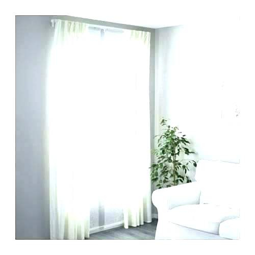 Layered Curtains Layered Sheer Curtains Bedroom Double Regarding Signature White Double Layer Sheer Curtain Panels (View 49 of 50)
