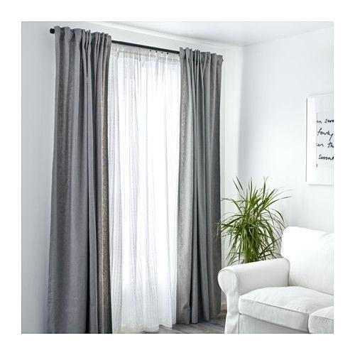 Layered Sheer Curtains – Trailwrestling For Signature White Double Layer Sheer Curtain Panels (View 19 of 50)