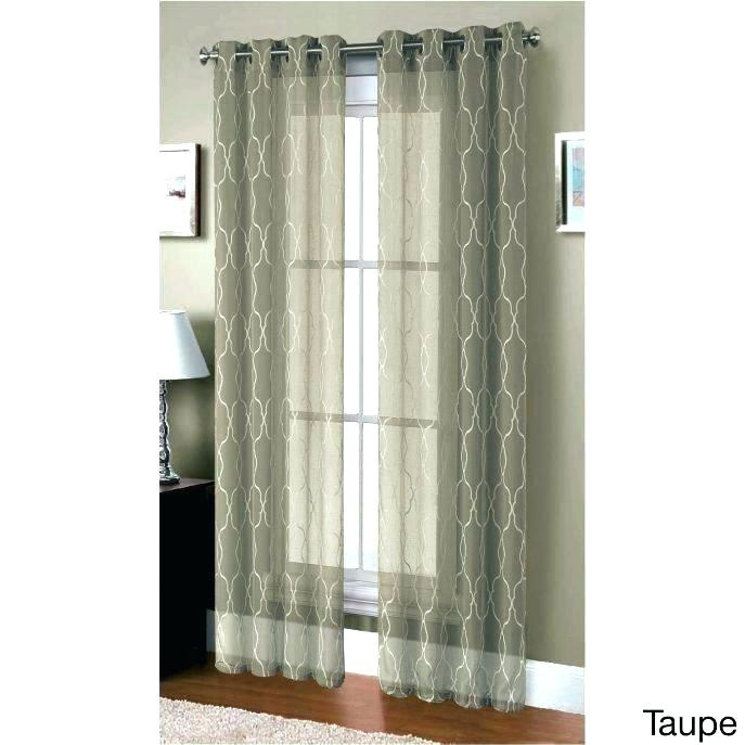 Layered Sheer Curtains – Zagaasportsfoundation For Signature Extrawide Double Layer Sheer Curtain Panels (#35 of 50)
