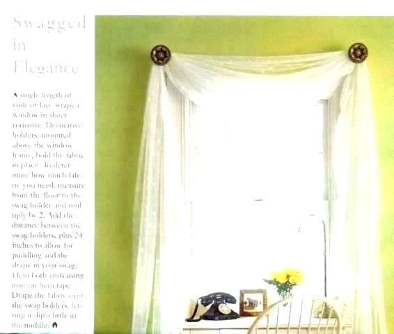 Layout Long Swag Curtains – Houseandgarden (View 32 of 50)