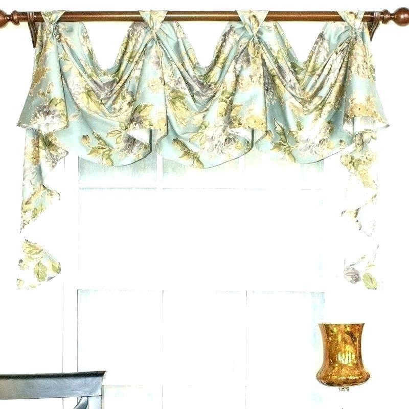 Layout Long Swag Curtains – Houseandgarden (View 33 of 50)