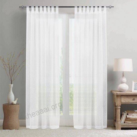 Inspiration about Layout Tab Top Sheer Curtains – Eggplant Show.xyz Within Arm And Hammer Curtains Fresh Odor Neutralizing Single Curtain Panels (#13 of 50)
