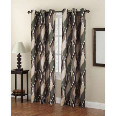 Lichtenberg – Room Darkening Curtains – Curtains & Drapes In Intersect Grommet Woven Print Window Curtain Panels (View 8 of 50)