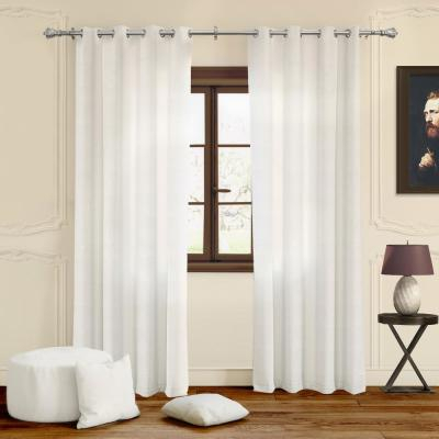 Lichtenberg Sheer White Alison Lace Curtain Panel, 58 In (View 33 of 44)
