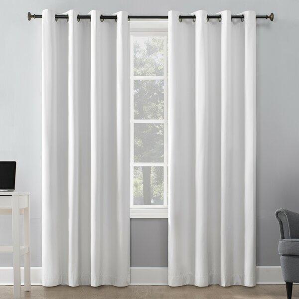 Lichtenberg Sun Zero Curtains | Wayfair With Regard To Jacob Tab Top Single Curtain Panels (View 16 of 23)