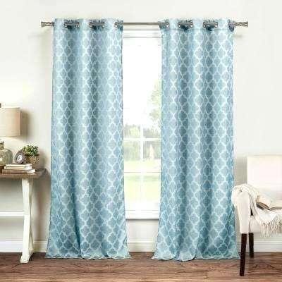 Light Blue Window Treatments – Barkandbite (View 41 of 50)
