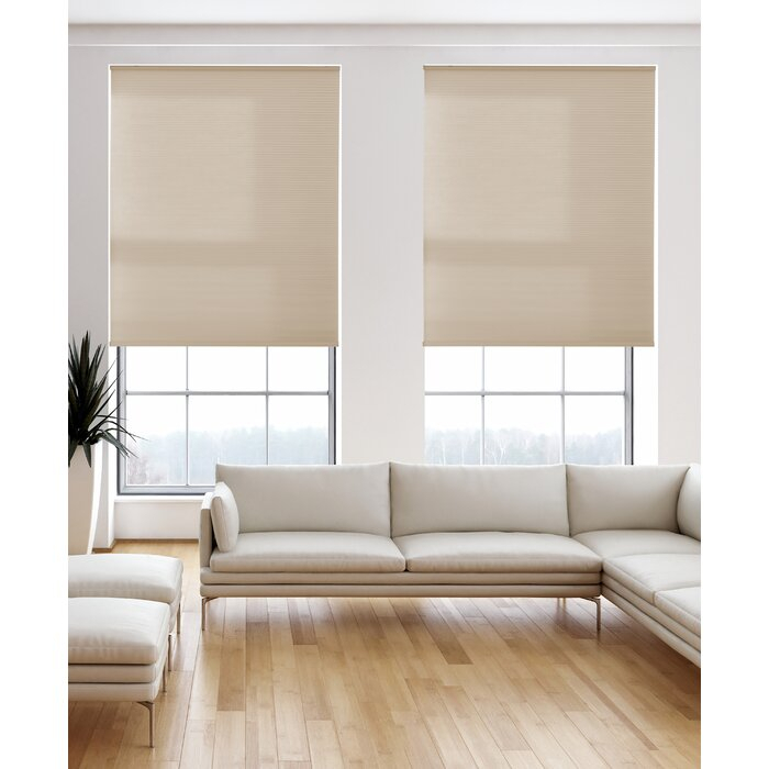 Light Filtering Desert Cellular Shade In Grainger Buffalo Check Blackout Window Curtains (View 27 of 50)