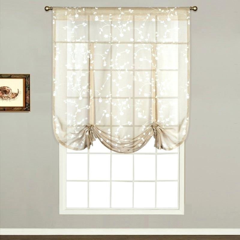 Light Filtering Sheer Curtains Shade Lighting Uv – Nivedh With Light Filtering Sheer Single Curtain Panels (View 26 of 38)