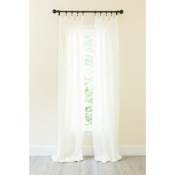 Lined Linen Curtains | Wayfair Regarding French Linen Lined Curtain Panels (#29 of 50)