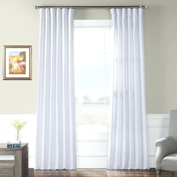Lined Linen Curtains – Zanmedia (View 31 of 50)