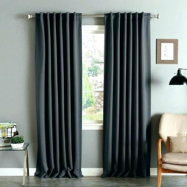 Linen Blackout Curtain Panels – Lifestudios With Solid Insulated Thermal Blackout Long Length Curtain Panel Pairs (View 25 of 50)